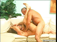 Oldest silver gay fucks hairy dilf
